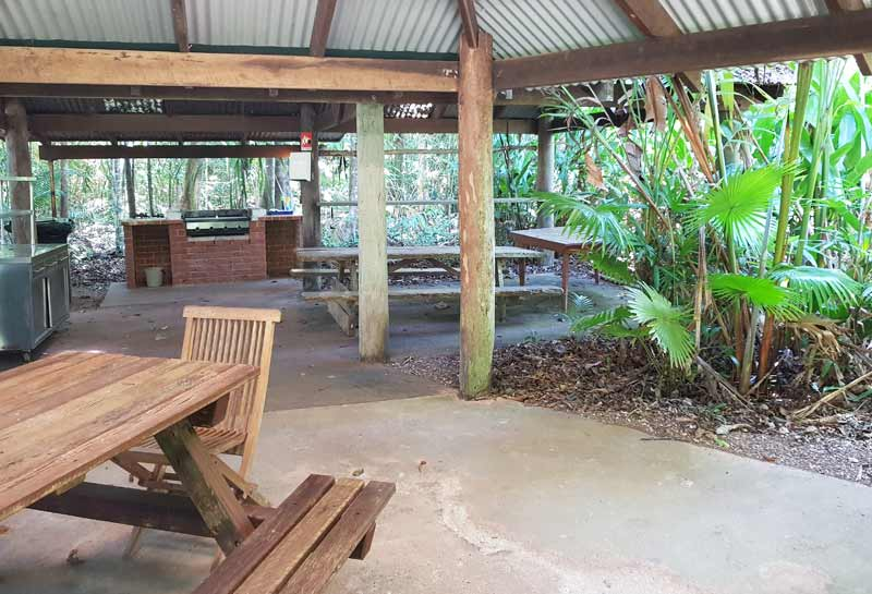 Daintree Motel BBQ Area
