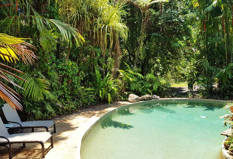 Daintree Motel Pool