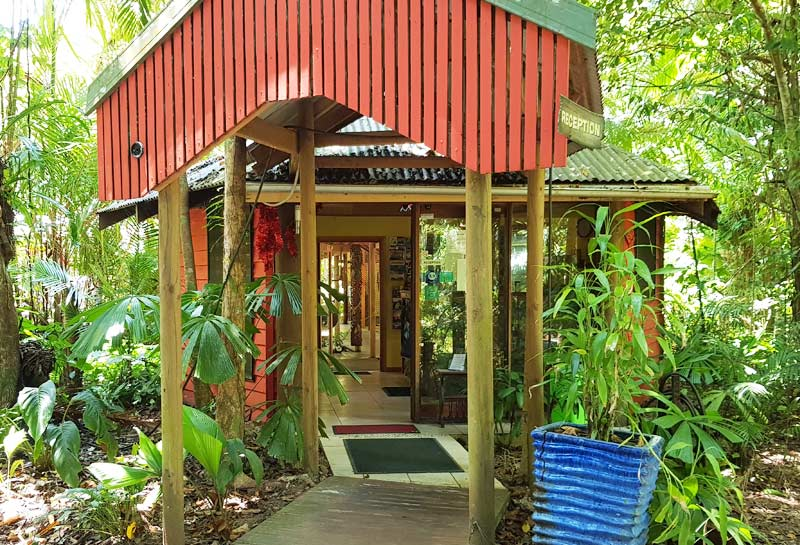 Daintree Retreat Reception